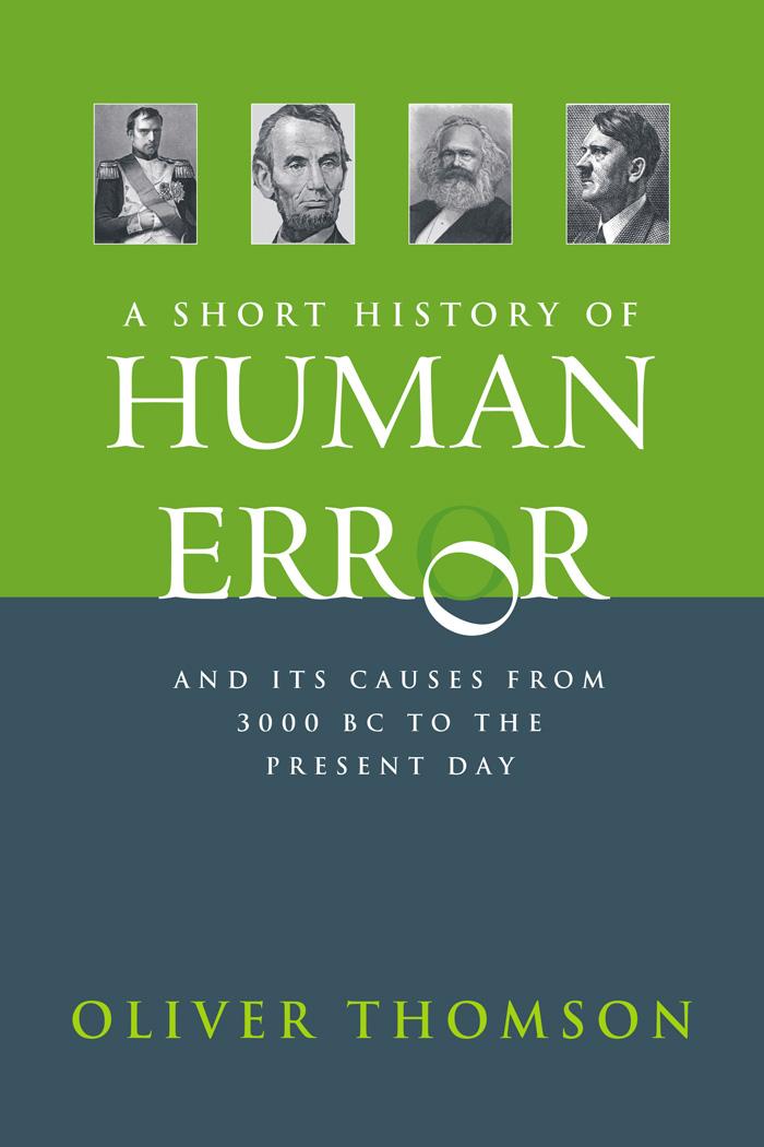 A short history of human error